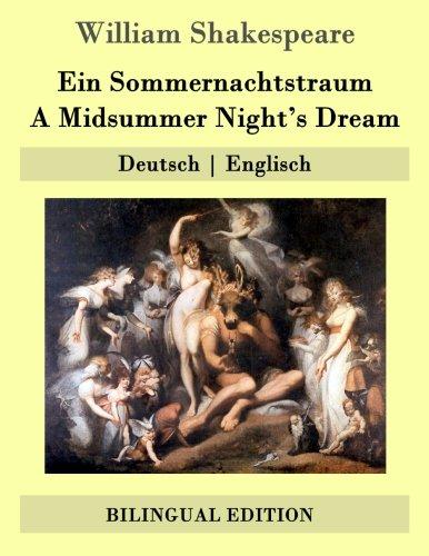 Ein Sommernachtstraum / A Midsummer Night's Dream: Deutsch   Englisch