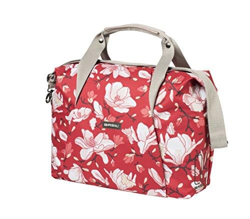 Basil Damen Magnolia Fahrradtasche, Poppy Red, 45 cm x 18 cm x 31 cm
