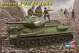 ホビーボス 1/48 ロシア戦車 T-34/85 1944年型 プラモデル