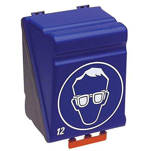 neoLab 1-1422 Aufbewahrungsbox Maxi mit Einsatz für 12 Schutzbrillen