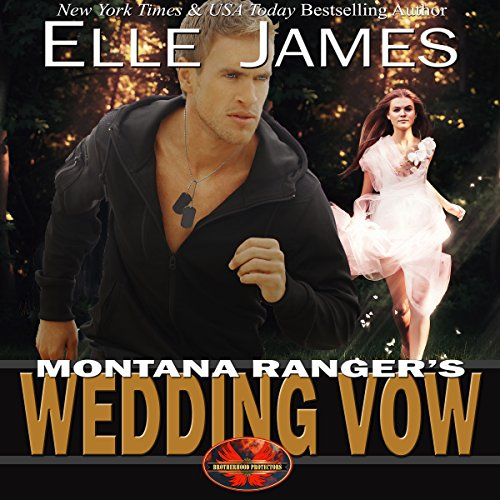 Montana Ranger's Wedding Vow audiobook cover art