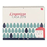 Boxclever Press L'Organizza Casa calendario mensile 2021. Calendario familiare con visione mensile e ampio spazio. Inizia da Settembre 2018 e dura fino a Dicembre 2019 (2019)