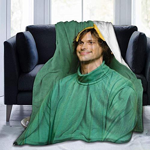 Throws Mat Thew Grey Gu Bler Soft Weight Warm Fleece Manta Manta para sofá Cama Viajar Camping Home 60 'X50'