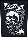 XLG The Exploited Vintage Skull Back Patch Hardcore Rock Jacket Sew On Applique