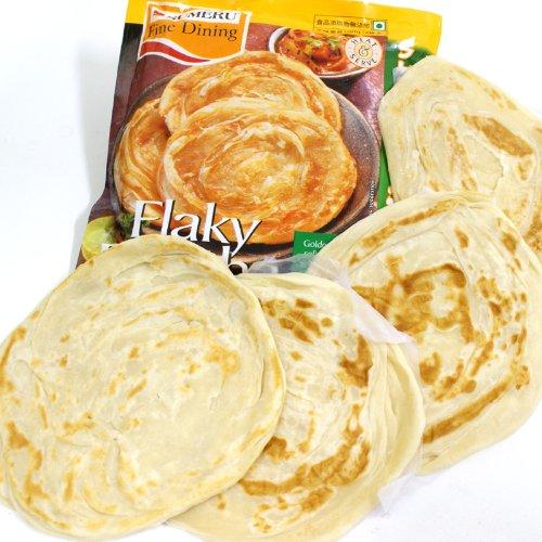 インド パラタ 半焼成パン 4枚入り400g 冷凍