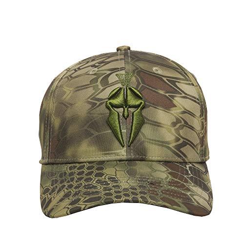 Kryptek Unisex-Erwachsene Ballkappe, Herren, Mütze, Spartan Logo Hat, Mandrake,...