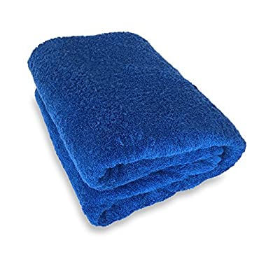Goza Towels 100 Cotton Oversized Bath Sheet Towel (40 x 70 inches) (Royal Blue)
