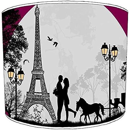 Premier Lighting Ltd 8 inch Paris Abat-jour9 pour Un plafonnier