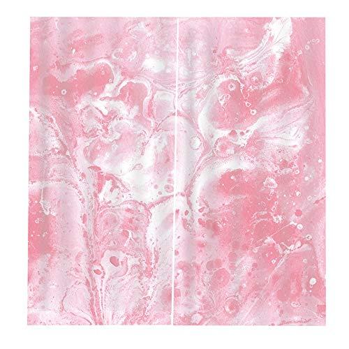 cortinas cocina rosa