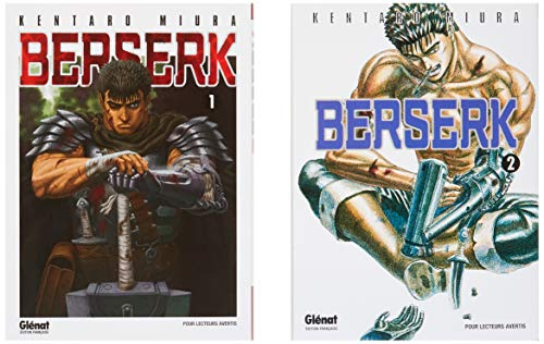 GLENAT BERSERK PACK T1 T2 2019