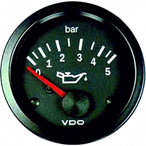 VDO OELDRUCKMANOM. Vision 52MM/12V/5 bar