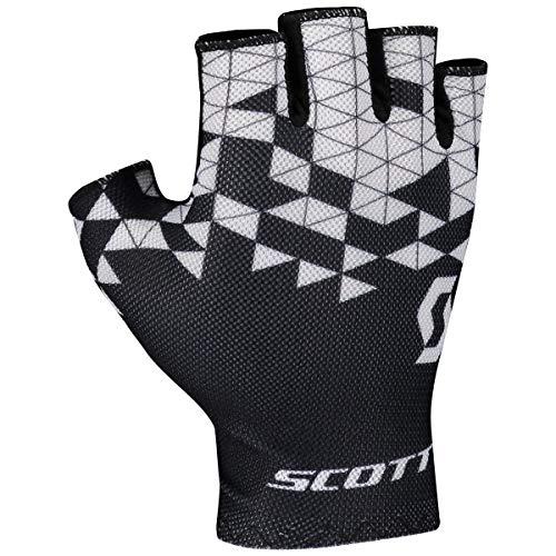 Scott RC Team Fahrrad Handschuhe kurz schwarz/weiß 2021: Größe: M (9)