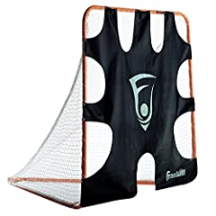 The perfect training aid for players of all levels Fits all official 6' x 6' lacrosse goals (goal not included) Super heavyweight tarpaulin construction with 9 scoring zones Easy attach, Comes with 18 bungee straps to securely fit the target onto any...