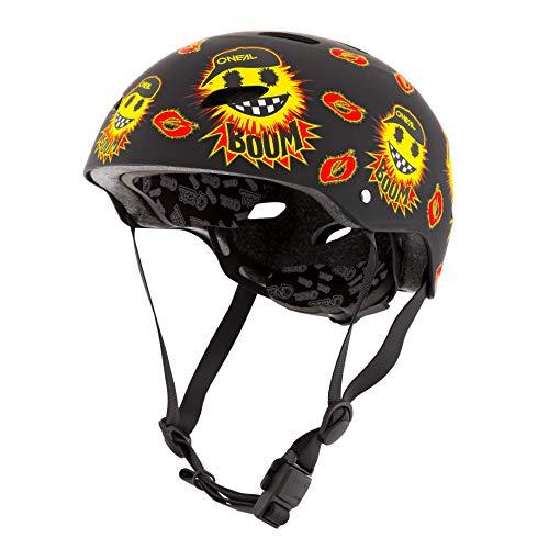 O\'NEAL   Mountainbike-Helm   Kinder   Enduro All-Mountain   ABS Schale, Fidlock Magnetverschluss, große Ventilationsöffnungen   Dirt Lid Helmet Youth Emoji   Schwarz Gelb   Größe L