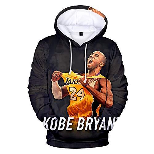Kobe Bryant Lakers 24 Hoodies Pullover Casual Fashion Herren Damen Sweatshirts Hip Hop Streetwear Hoodies Kobe Bryant Hoodies