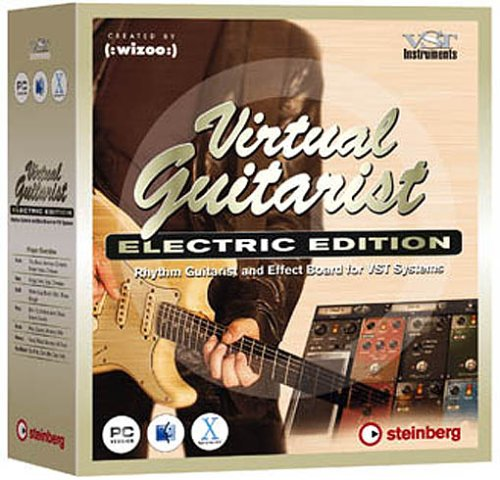 STEINBERG VIRTUAL GUITARIST ELECTRIC EDITION WIN/MAC