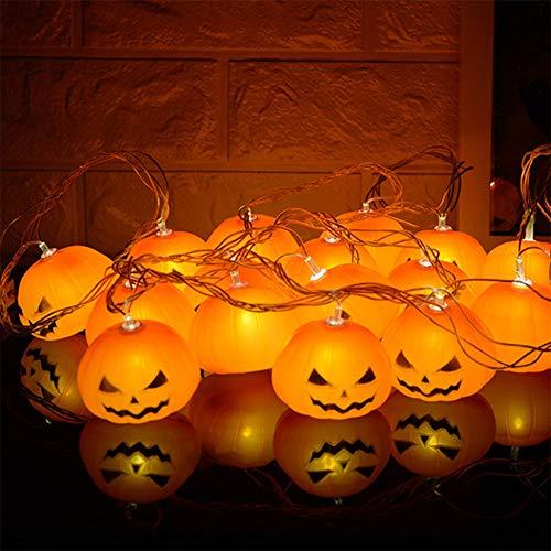 Warme decoratieve pompoenen, werkt op batterijen, Halloween, Kerstmis, party, tuindecoratie, aansteken van ledlampen.