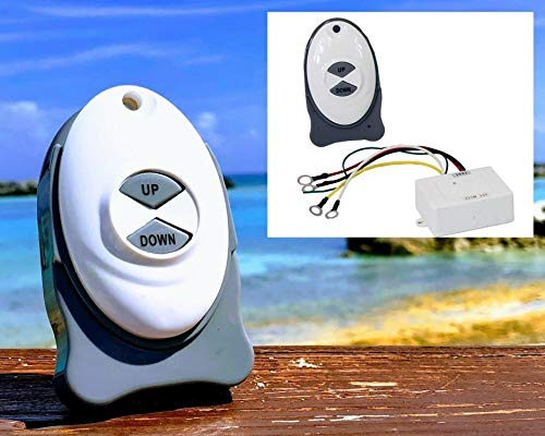 ISURE MARINE Anchor Remote Windlass Wireless Switch Boat Sail Trim Controller for Tugboat Ferry Yacht Airboat Fishing Vessels