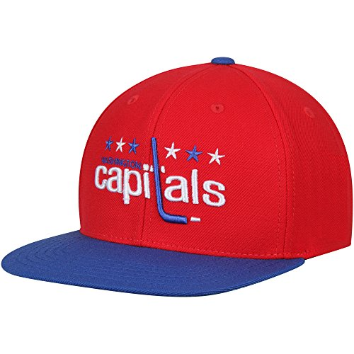 American Needle Washington Capitals 400 Series Replica Wool Adjustable Snapback Hat