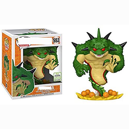 Figuras Pop Dragon Ball Z Porunga Shenron 553 Figura De Acción 10Cm, Colección De Juguetes De PVC