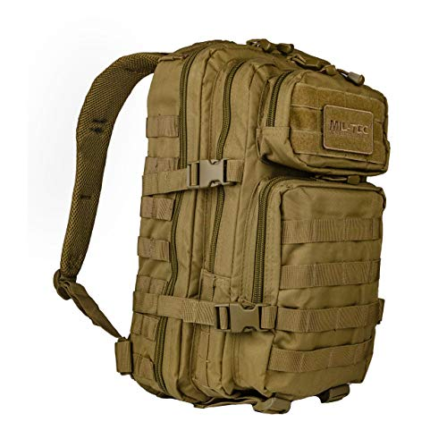 Military Patrol Combat MOLLE US Assault Pack 20L Coyote
