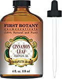 Cinnamon Essential Oil 4 Fl. Oz. With a Glass Dropper - 100% Pure & Natural Therapeutic Grade. Great As Natural Disinfectant, Odor Neutralizer, Insect Repellent & Massage Oil review