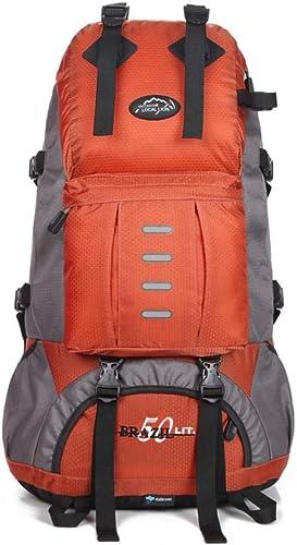 Trekking Randonnée Camping pour Homme Femme Sac à Dos de Voyage pour Homme, Sac coréen, Sac de Voyage, Sac de Sport de Grande capacité, Sac d'alpinisme, Noir