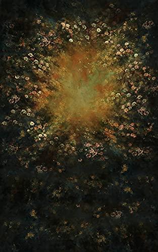 Fondo de fotografa Pintura al leo Flor Boda beb nio Retrato teln de Fondo Foto telfono Accesorios de Estudio fotogrfico A3 10x10ft / 3x3m