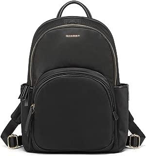 赵凯 School Bag Super Fire Backpack Female Nylon Oxford Cloth 12.5 Inch Business Computer Small Backpack Traveling Backpack (Color : Black, Size : Small)