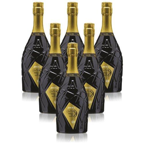 Prosecco Treviso DOC extra dry Galìe Astoria Italienischer Sekt (6 flaschen 75 cl.)