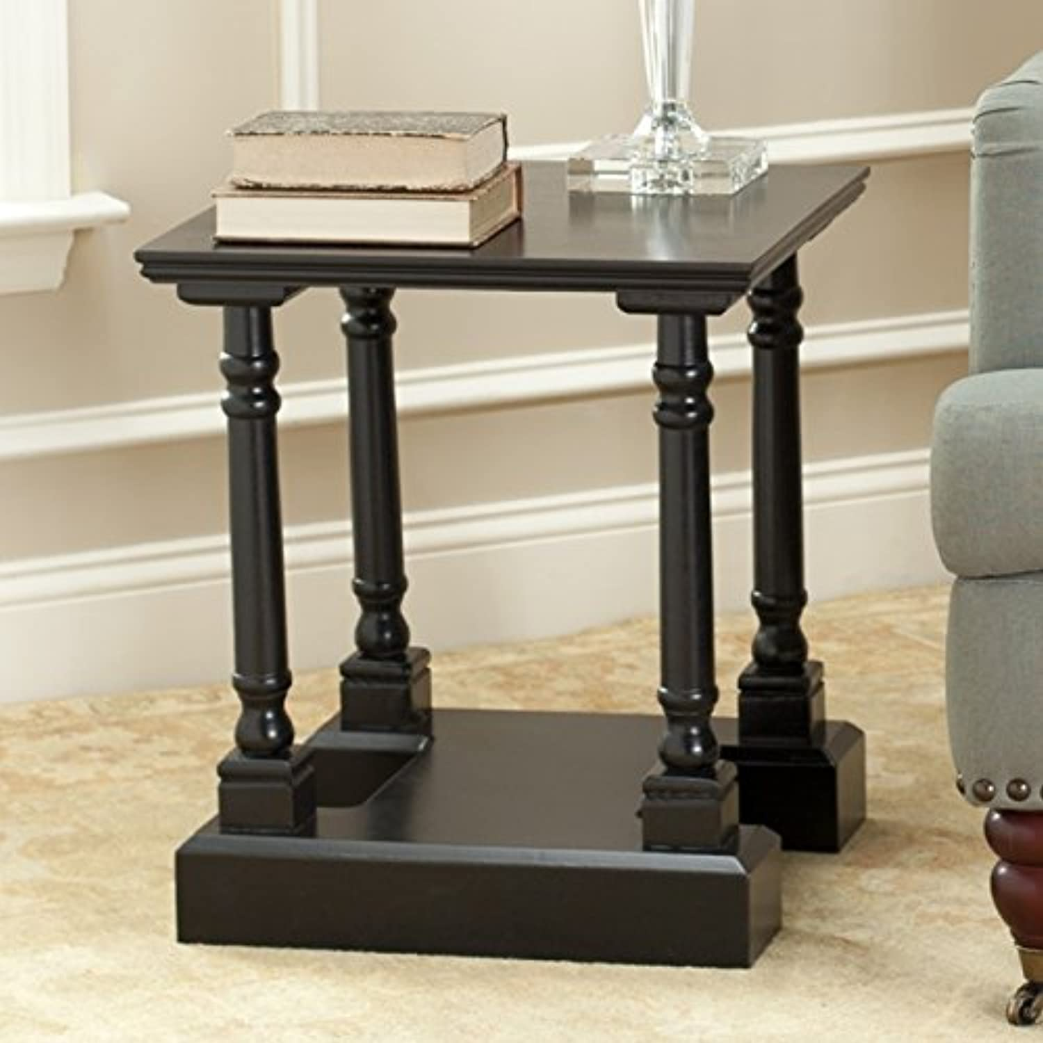 Safavieh American Homes Collection Endora Distressed Black End Table
