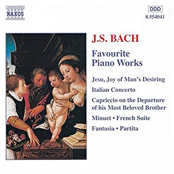 Bach, J.S.: Favourite Piano Works