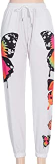 Women Tracksuit Outfits Long Sleeve Butterfly Print Hooded Tops + Casual Long Pants Fashion Street Sport Suit