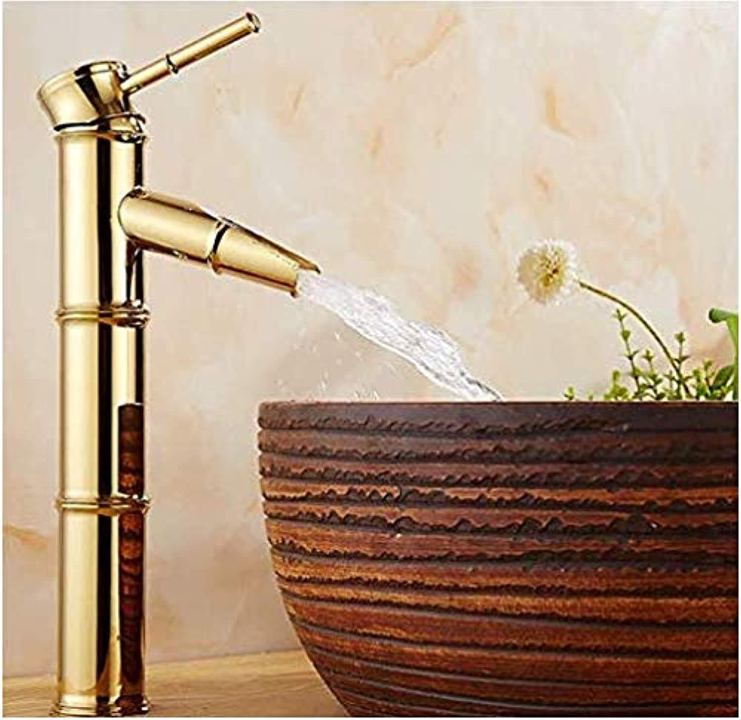 Kitchen Fauct Bathroom Faucet Copper European Hot and Cold Basin Washbasin Above Counter Basin Single Hole Bathroom Wash Basin redating Faucet