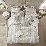 INK+IVY 100% Cotton Comforter Mid Century Modern Design All Season Bedding Set, Matching S...