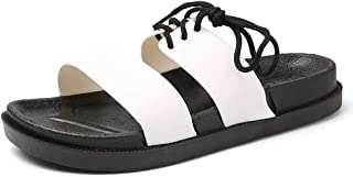 SHENTIANWEI Summer Casual Slipper for Men Walking Fashion Beach Shoes Breathable Outdoor Slides Plastic Slip on Flat Heel Wear Resistant Lightweight