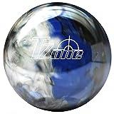 Brunswick TZone Indigo Swirl - Bola de bolos (12 libras), color azul, talla 12s lb