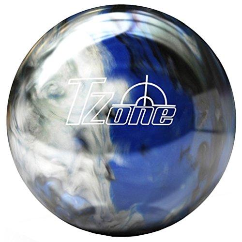 Brunswick TZone Indigo Swirl - Bola de bolos (12 libras), color azul, talla...