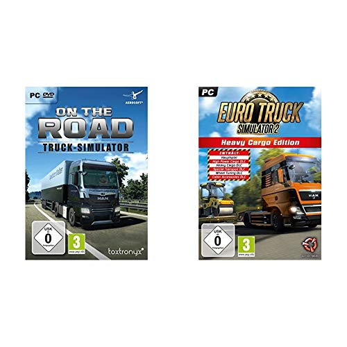 Truck Simulator - On the Road (Truck / LKW - Simulator) - [PC] & Euro Truck Simulator 2: Heavy Cargo Edition