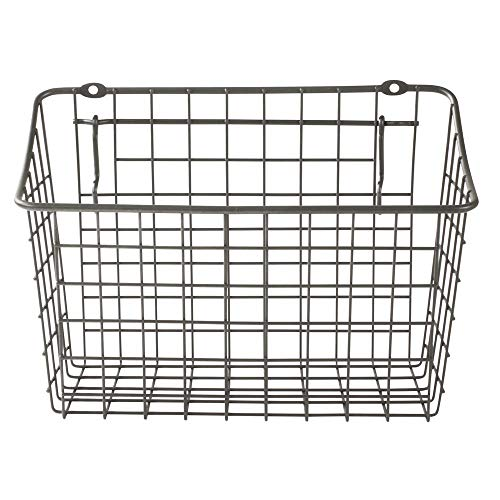 wire basket wall mount - 2