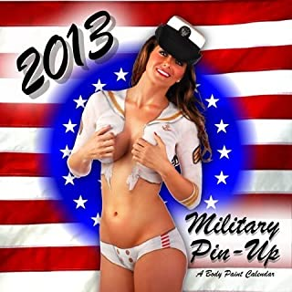 2013 Miltary Pin Up Body Painting Calendar