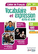 Vocabulaire et expression écrite et orale 2de-1re de Thomas Gargallo