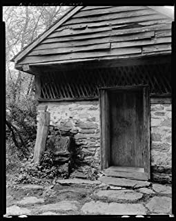 HistoricalFindings Photo: Sherrill Inn,Stone Buildings,Hickory Nut Gap,NC,North Carolina,Architecture,1938 1
