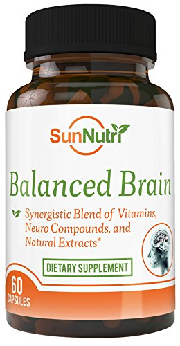 Brain It On - Mental Health Nootropic Supports Anxiety Relief, Focus, Memory, Clarity, Concentration, Cognitive Health, Alertness, A Brain Booster, Stress Relief, Focus Supplement, Cognitive Enhancer