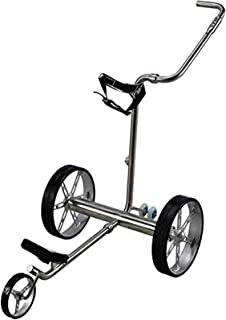 Golf Push Cart Golf Electric Golf Push Cart Foldable 3 Wheel Golf Wheel Push Pull Golf Cart with Remote Control Golf Electric