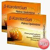 [page_title]-2x Beta Karotone Sun Forte | 60 Tabletten Vegan | Beta-Carotin für schöne Bräune | Anti-Aging der Haut | Apotheken-Ware - Pharma Qualität nach GMP & HACCP