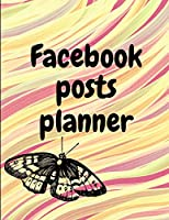 Facebook posts planner: Organizer to Plan All Your Posts & Content