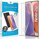 Power Theory Schutzfolie für Samsung Galaxy Note 20 [2 Stück] - [KEIN Glas] 3D Nano-Tech Panzerglasfolie, Panzerglas Folie, 100prozent Fingerabdrucksensor, Einfache Installation, Bildschirmschutz Panzerfolie