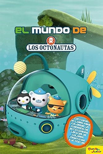 Los Octonautas. El mundo de los Octonautas: Contiene: un libro para colorear, un cuaderno de actividades, lápices de colores, pegatinas y un póster