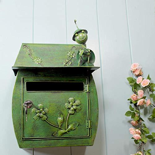 XURANFANG decoratief handwerk smeedijzeren brievenbus metaal wandbehang brievenbus handmatige creatieve brief naar huis tuin decoratie fabrikant